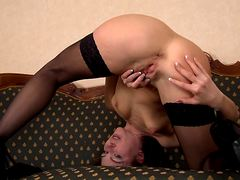 Секси мастурбация