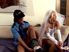 Трахает русскую невесту