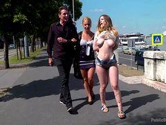 Видео публичного секс унижения