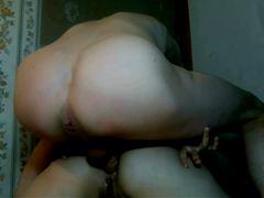 Русская пара снимает на камеру домашний секс